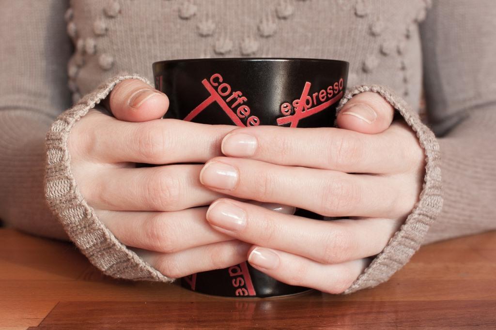 コーヒーが入ったマグ