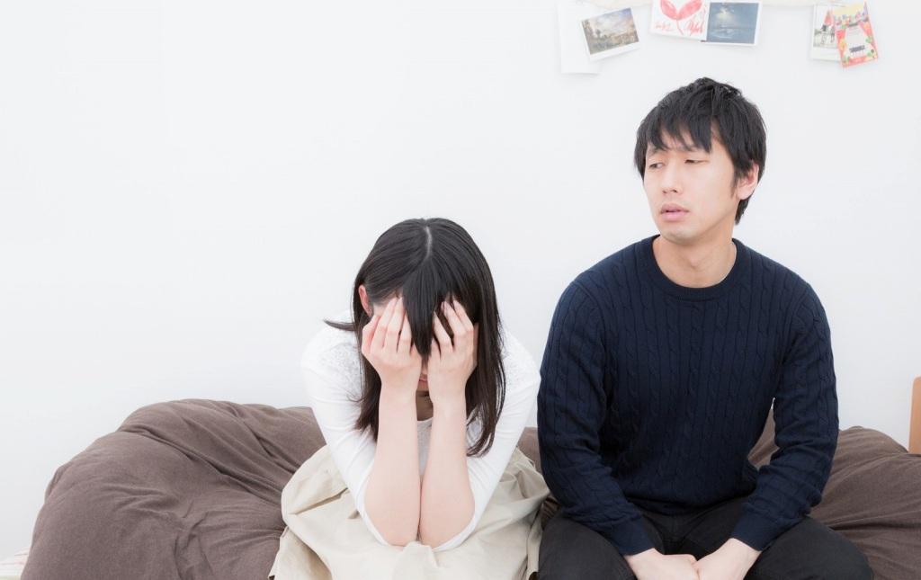 離婚寸前のカップル