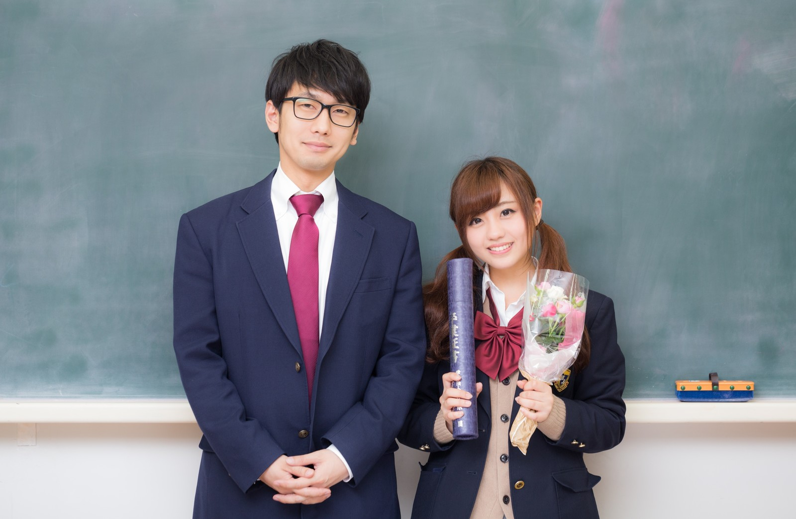高校生のカップル