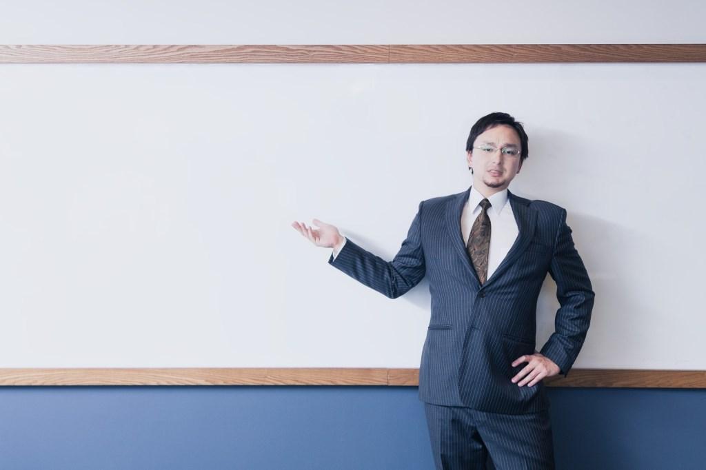 外国人の教師