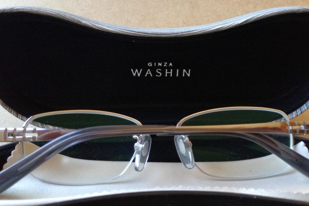 購入したメガネ
