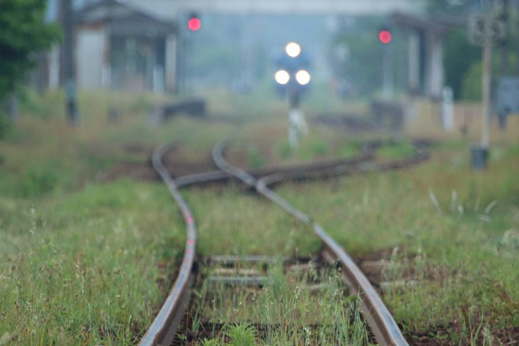 単線の線路
