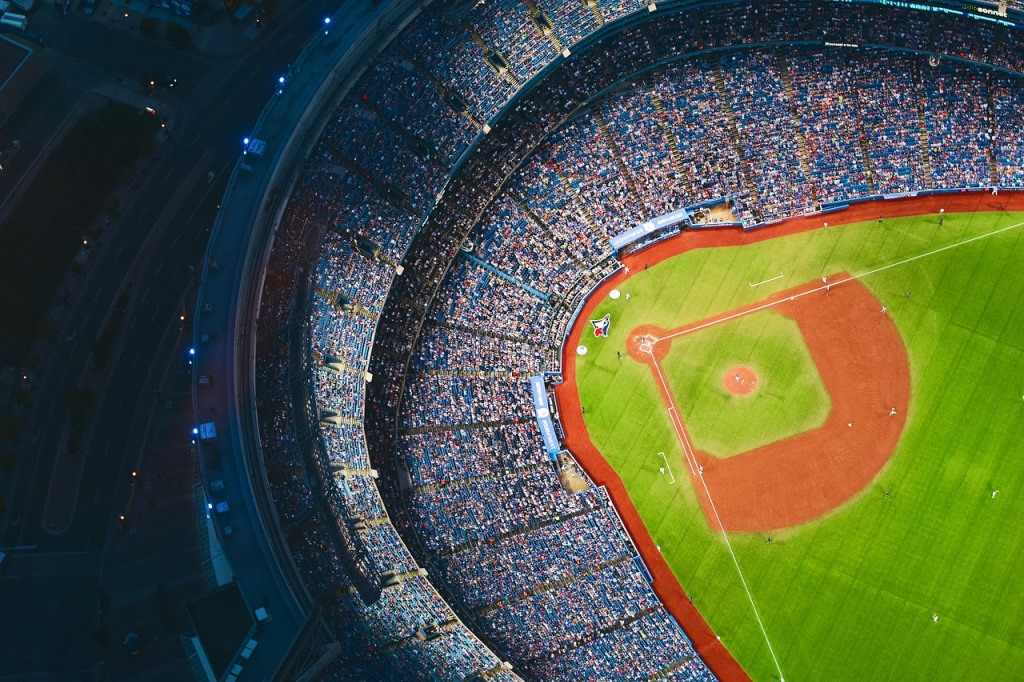 野球のスタジアム